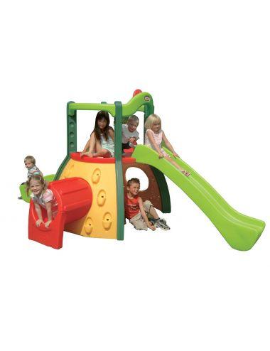 Little Tikes MAŁPI GAJ Plac Zabaw Zjeżdżalnia Zielony Duży