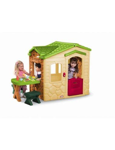 Little Tikes Domek Piknikowy z Patio i Magicznym Dzwonkiem