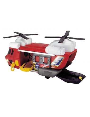 DICKIE Helikopter ratunkowy czerwony zabawka