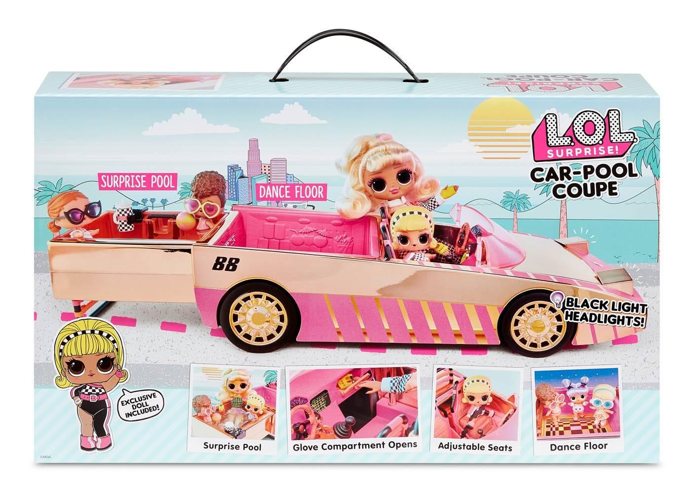 LOL car pool auto samochód