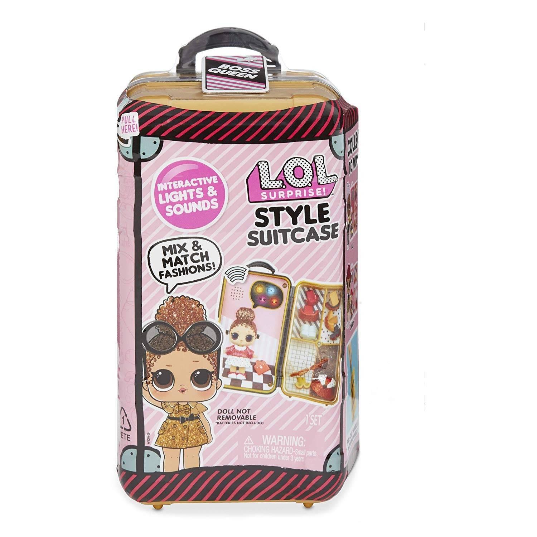 LOL stylowa walizka boss