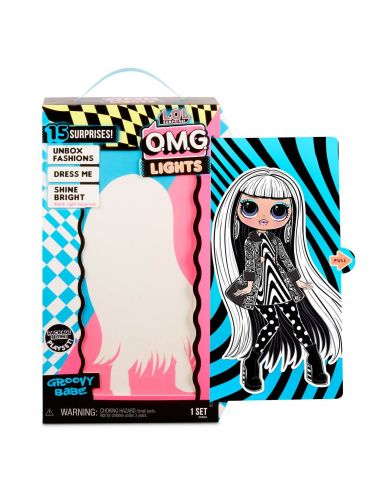 LOL Surprise ! OMG Lights Groovy Babe lalka świecąca Fashion