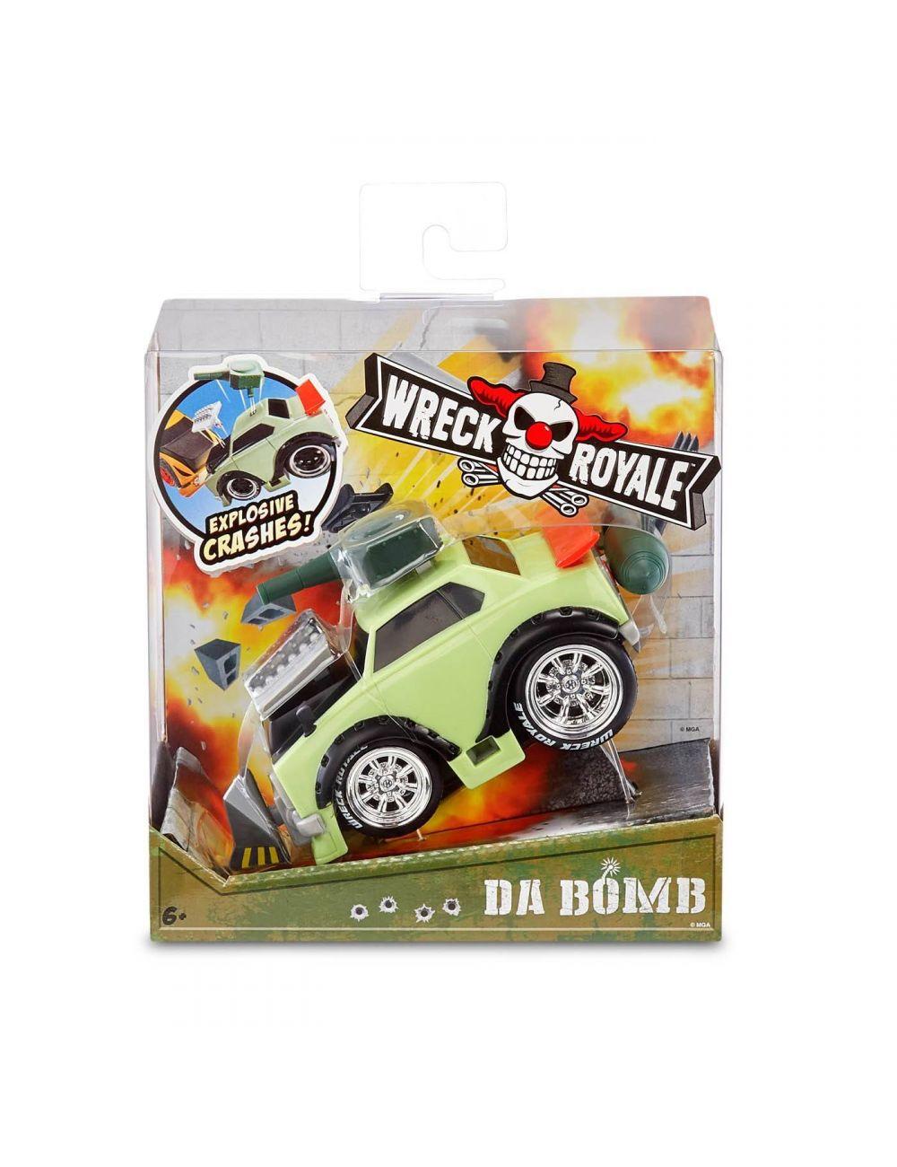 Wreck Royale da bomb pudełko box