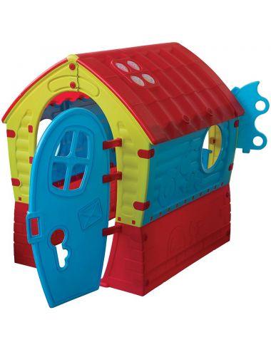 PalPlay Domek Ogrodowy Dream House ze Światełkiem M681