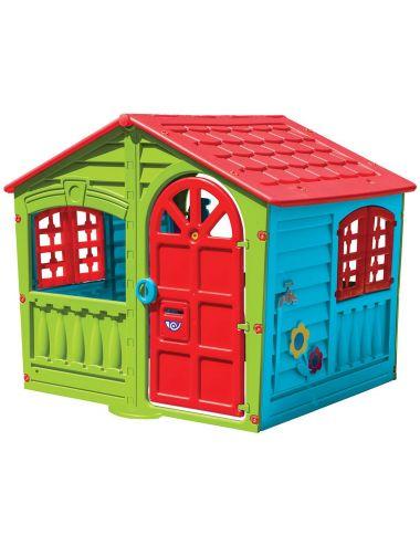 PalPlay Domek Ogrodowy House of Fun ze Światełkiem M781