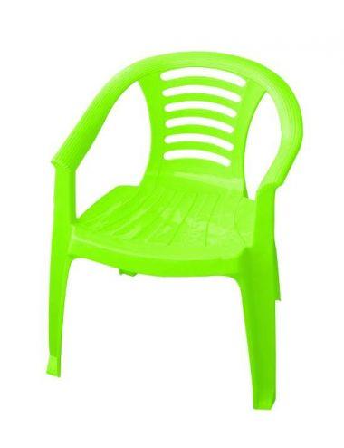 PalPlay Krzesło dla dziecka Plastikowe Zielone 300-0332