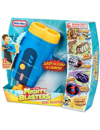 Little Tikes My First Mighty Blasters Wyrzutnia Dual Blasters