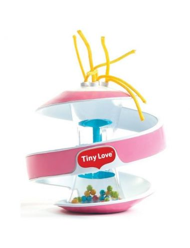 Tiny Love Spiralka Sensoryczna Klepsydra Różowa