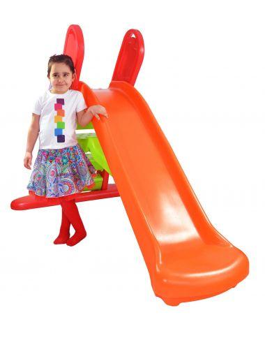 Little Tikes Wielka ZJEŻDŻALNIA Dla Dzieci Duża Pomarańczowa 180 cm