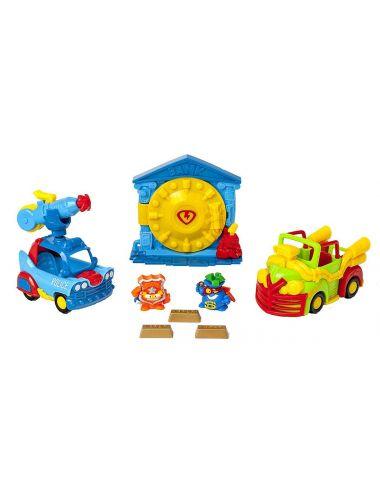 SuperZings Napad na Bank 2 figurki i pojazdy seria 4