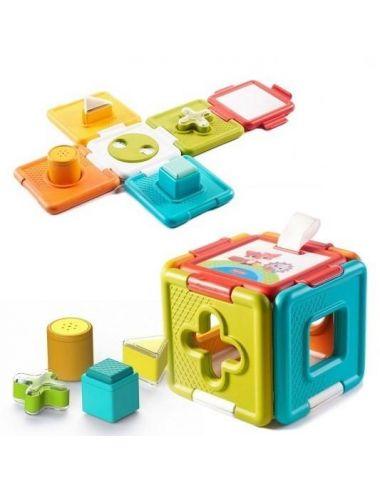 Tiny Love Sorter i Układanka 2w1 Zabawka Edukacyjna