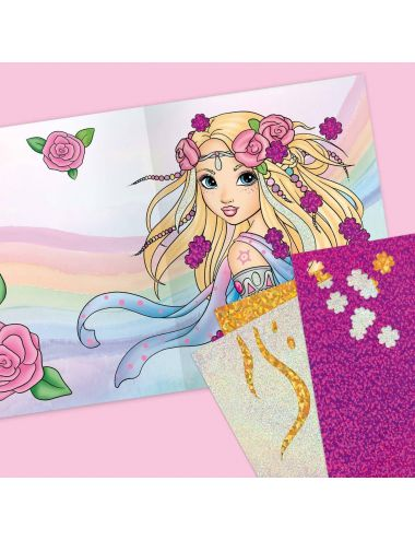 Fantasy Model Zestaw Kreatywny Fancy Foils 10351