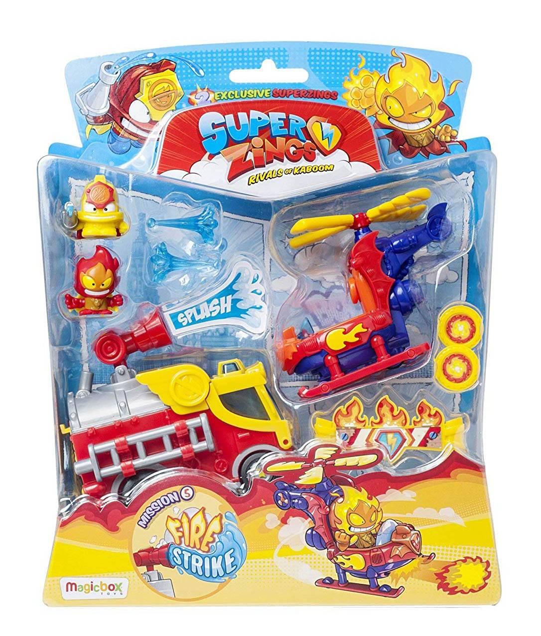 Super Zings mission fire strike