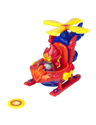 Super Zings misja pożar fire strike helikopter