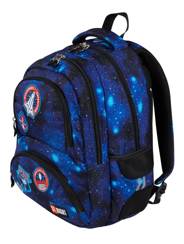 Plecak ST.RIGHT Misja Kosmiczna 4-komorowy BP7