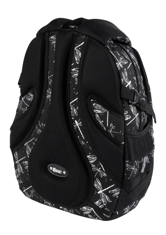 ST.RIGHT Plecak szkolny Ważki 4-komorowy BP1