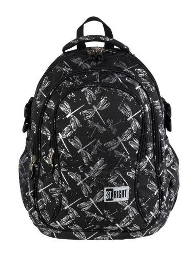 ST.RIGHT Plecak szkolny Ważki 4-komorowy BP1 przód