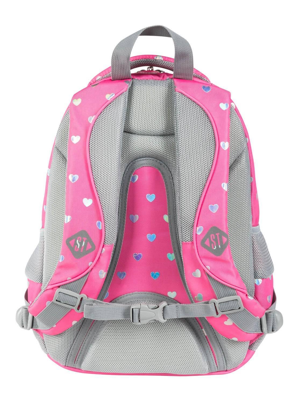 ST.RIGHT plecak szkolny Cekinowe Koty 4-komorowy BP58