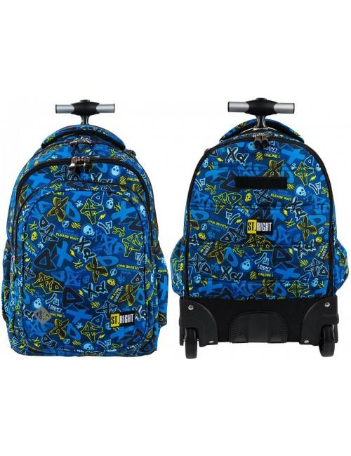 ST.RIGHT Plecak na kółkach XD ART TB1 szkolny