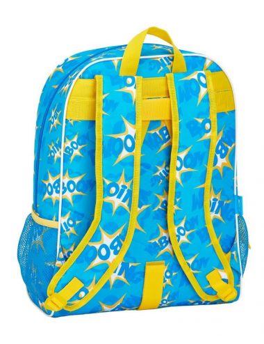 Super Zings plecak szkolny dla dzieci 42 CM niebieski tył
