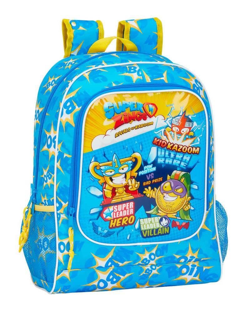 Super Zings plecak 42cm niebieski żółty
