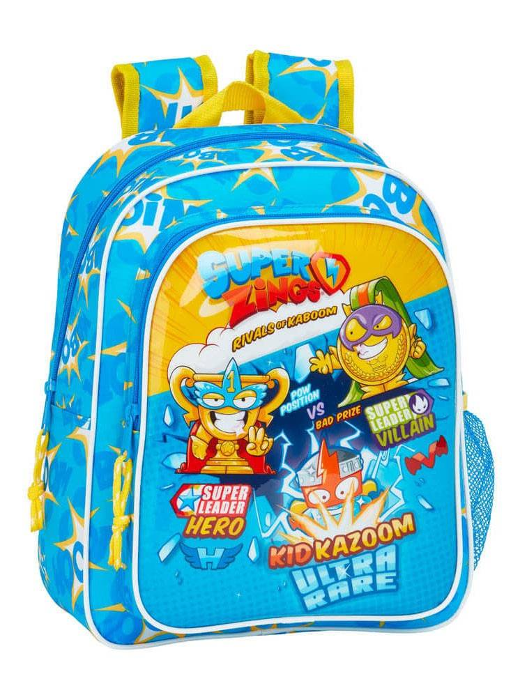 Super Zings plecak 34cm niebieski żółty