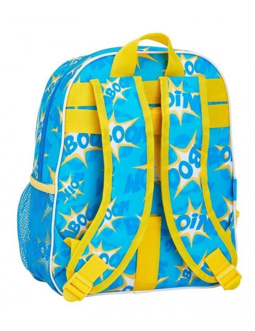 Super Zings plecak szkolny dla dzieci 34 CM niebieski tył