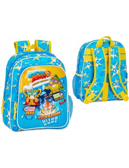 Super Zings plecak szkolny dla dzieci 34 CM niebieski
