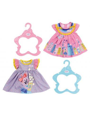Baby Born Sukienka różowa fioletowa 828243