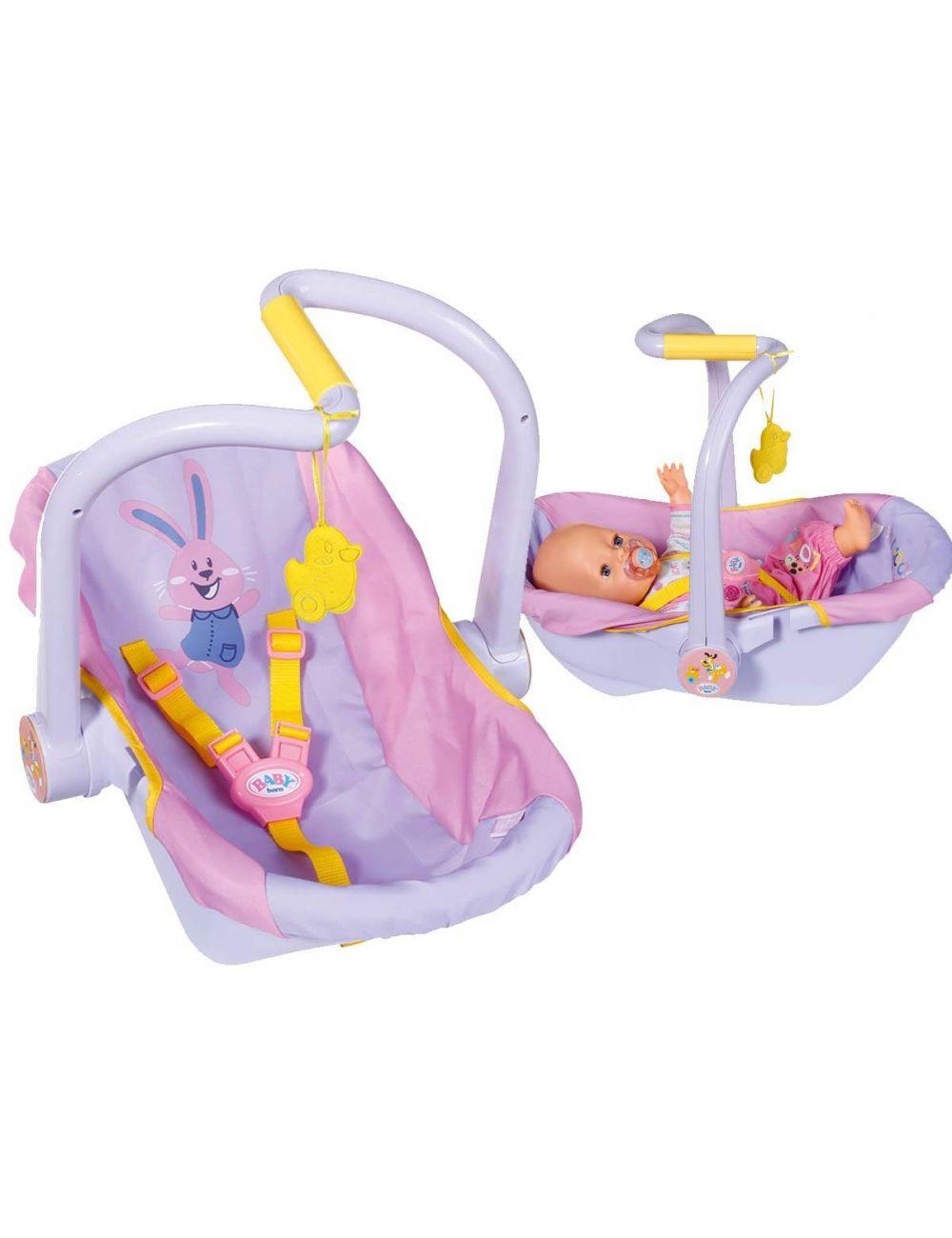 BABY BORN Fotelik dla lalki nosidełko krzesełko 3w1