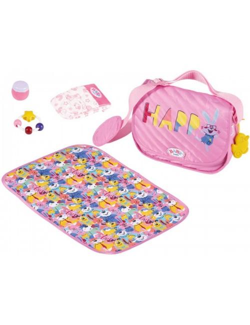 BABY BORN torba z przewijakiem i akcesoriami 828021