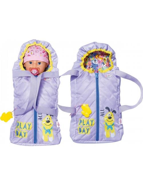 BABY BORN Śpiworek i nosidełko 2w1 828014