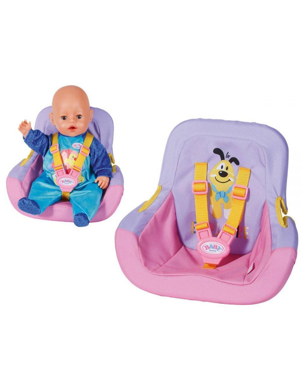 BABY BORN Fotelik samochodowy dla lalki 828830