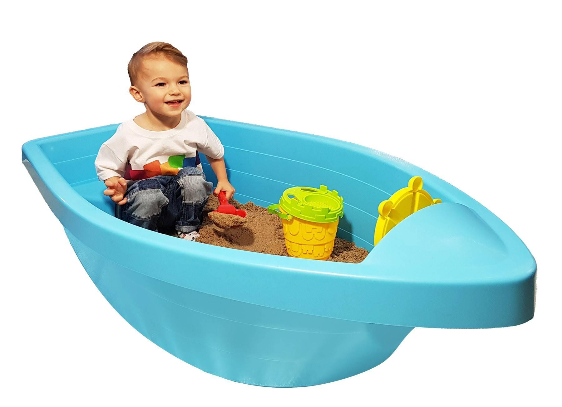 PalPlay piaskownica m311 dziecko bawi się w piaskownicy