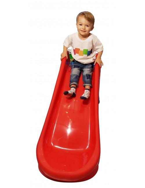 PalPlay Zjeżdżalnia Plastikowa Składana M718 dziecko zjeżdża