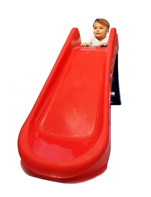 PalPlay Zjeżdżalnia Plastikowa Składana M718 dziecko wchodzi