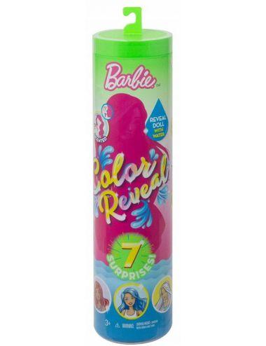 Barbie Lalka Kolorowa Niespodzianka w Tubie S2 Mattel GTP41