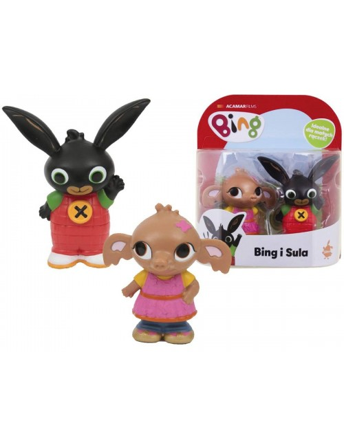 Figurki królik Bing i Sula zestaw dwupak