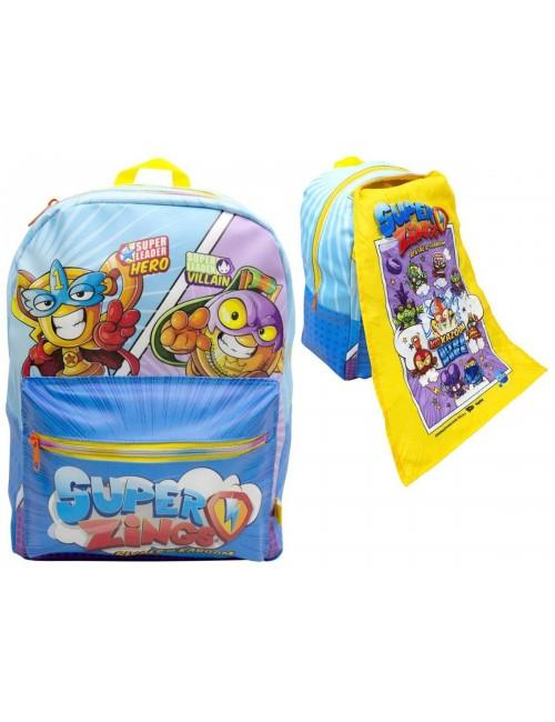 Super Zings plecak szkolny z peleryną