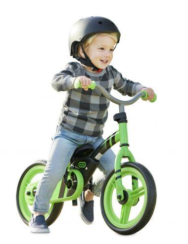 Little Tikes Rowerek biegowy z pedałami Zielony 173936 649615C