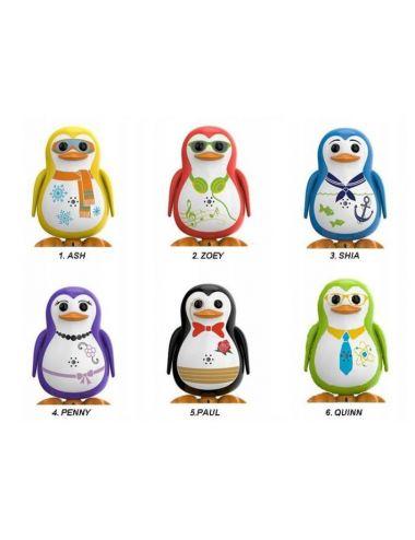 Dumel DigiPenguins Kolorowe Pingwinki 6 wzorów 88333