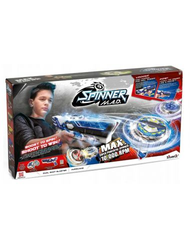 Dumel Wyrzutnia Dual Shot Hurricane Spinner 86311
