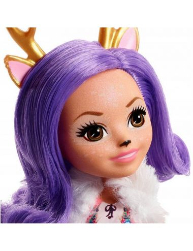 Enchantimals Lalka Danessa Deer i Jelonek Sprint FXM75
