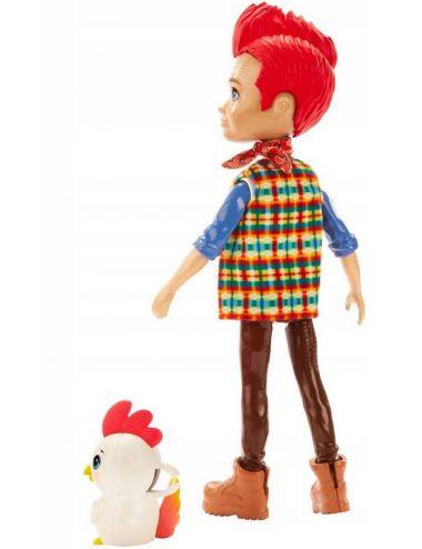 Enchantimals Lalka Redward Rooster i Kogucik Cluck GJX39