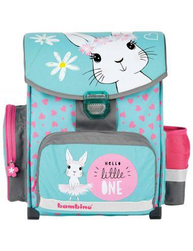 Bambino Tornister szkolny Rabbit Królik premium