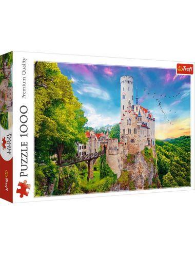 Trefl Puzzle 1000el Zamek Liechtenstein Niemcy 10497