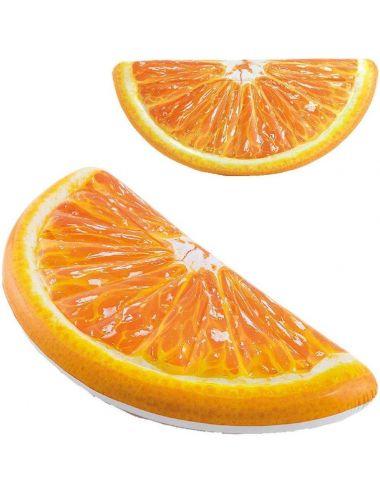 INTEX Materac do pływania pomarańcza 178x85cm