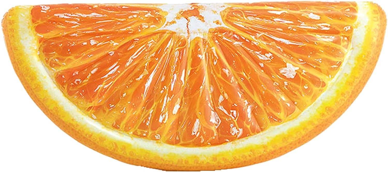 materac pomarańcza intex