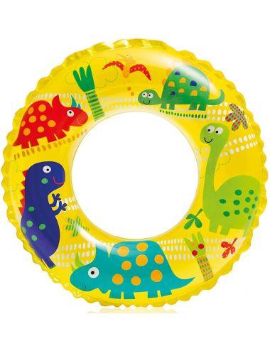 INTEX Koło do pływania dla dzieci wzorki 61 cm