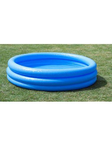 INTEX Basen dmuchany niebieski CRYSTAL BLUE 147x33cm